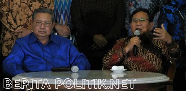 Usai Lebaran , SBY Dan Prabowo Akan Bertemu