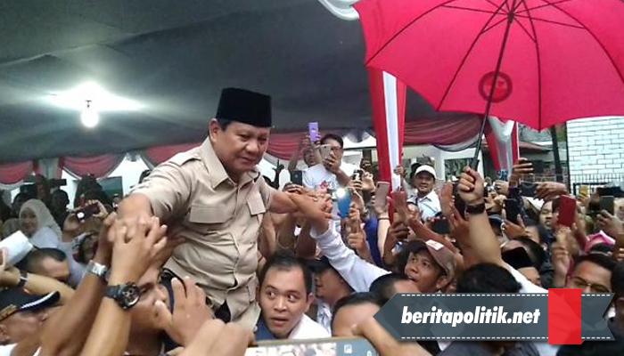 Prabowo Sebut Elite Jakarta Tak Suka Saya karena Mereka Nyolong Uang Rakyat