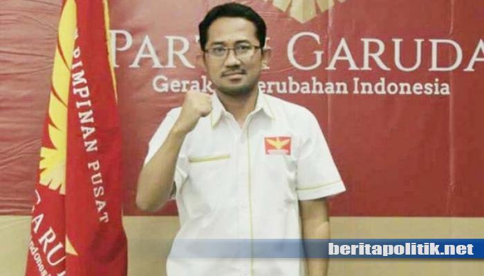 Survei RTK Tak Lolos ke DPR Partai Garuda Akan Jadi Bahan Evaluasi