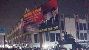 Fadli Menolak Baliho Klem Prabowo Menang Di Turunkan