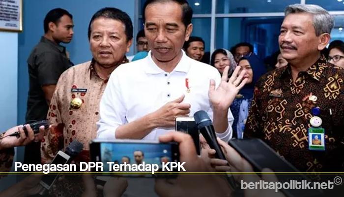 Penegasan DPR Terhadap KPK