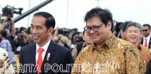 Golkar Yakin Jokowi Gaet Airlangga Hartarto