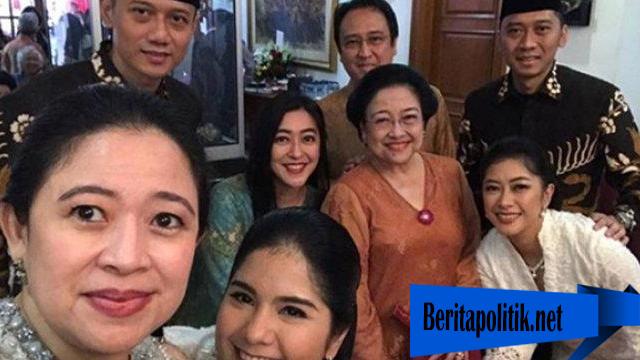 Kedua Anak SBY Datang Idulfitri Ke Tempat Megawati