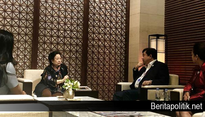 Mantan Presiden Indonesia Ibu Megawati Ingin Korsel dan Korut Bersatu