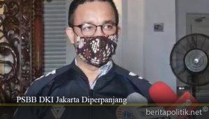 PSBB DKI Jakarta Diperpanjang